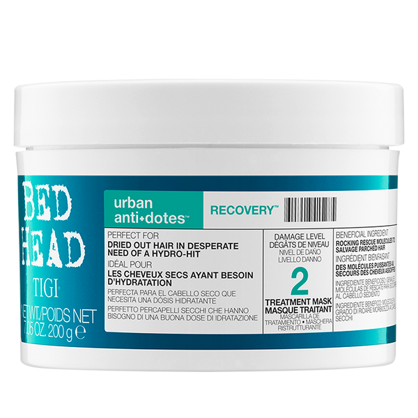 Tigi - Tratamiento pelo Urban Antidotes Level 2 Recovery Treatment Mask 200gr