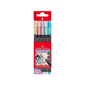 Marc Grip Finepen pastel x5