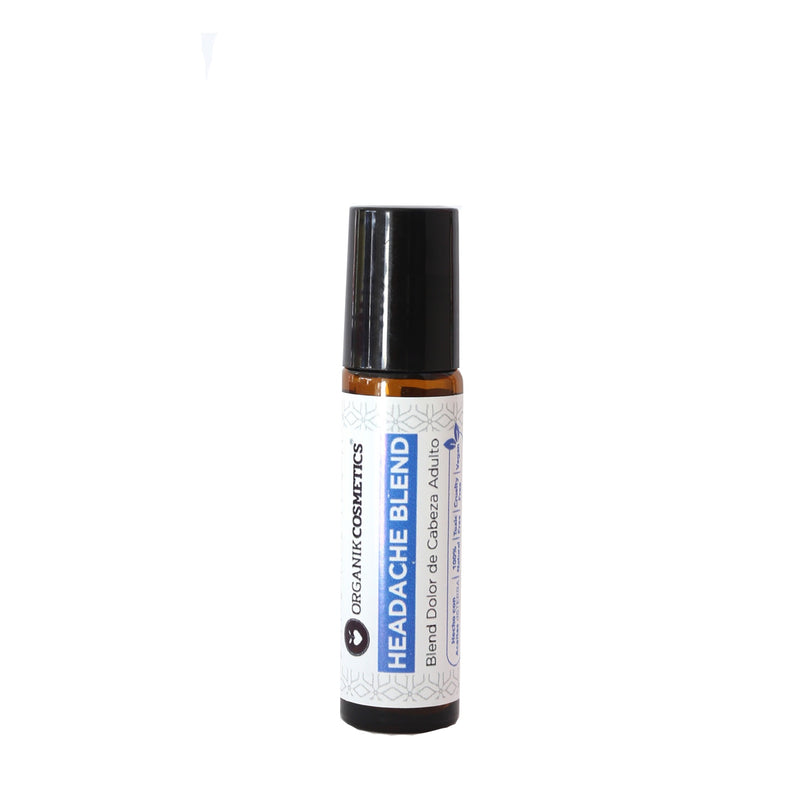 Organik Cosmetics - Roll on Headache Blend / Blend Dolor de Cabeza Adulto 10 ml.