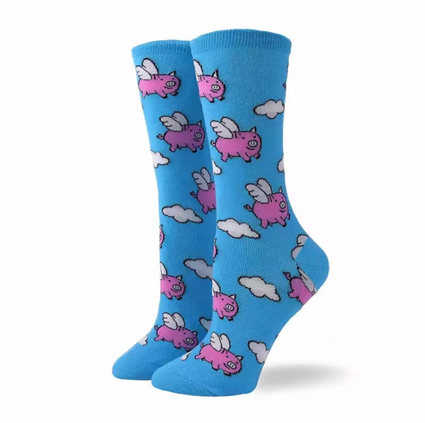 Calcetines Bacanes - Chancho Pink