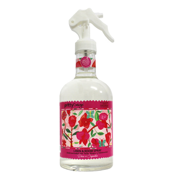 Pritty Design - Room Spray Rosa y Orquidea