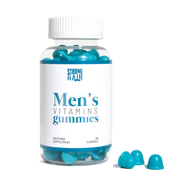 STRONG HAIR - Men´s Vitamins GUMMIES
