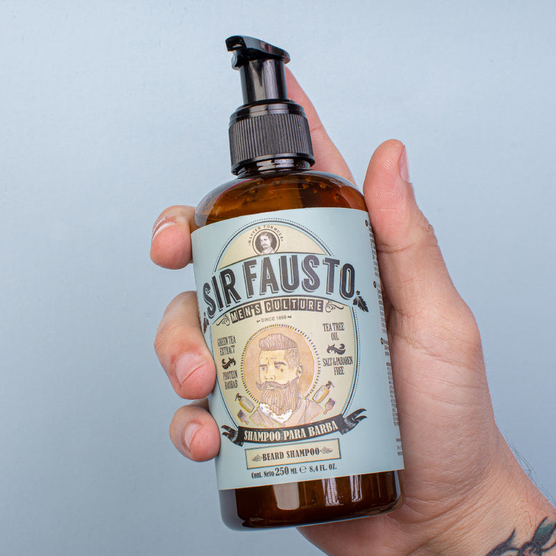 Sir Fausto - Shampoo para barba x500 ml