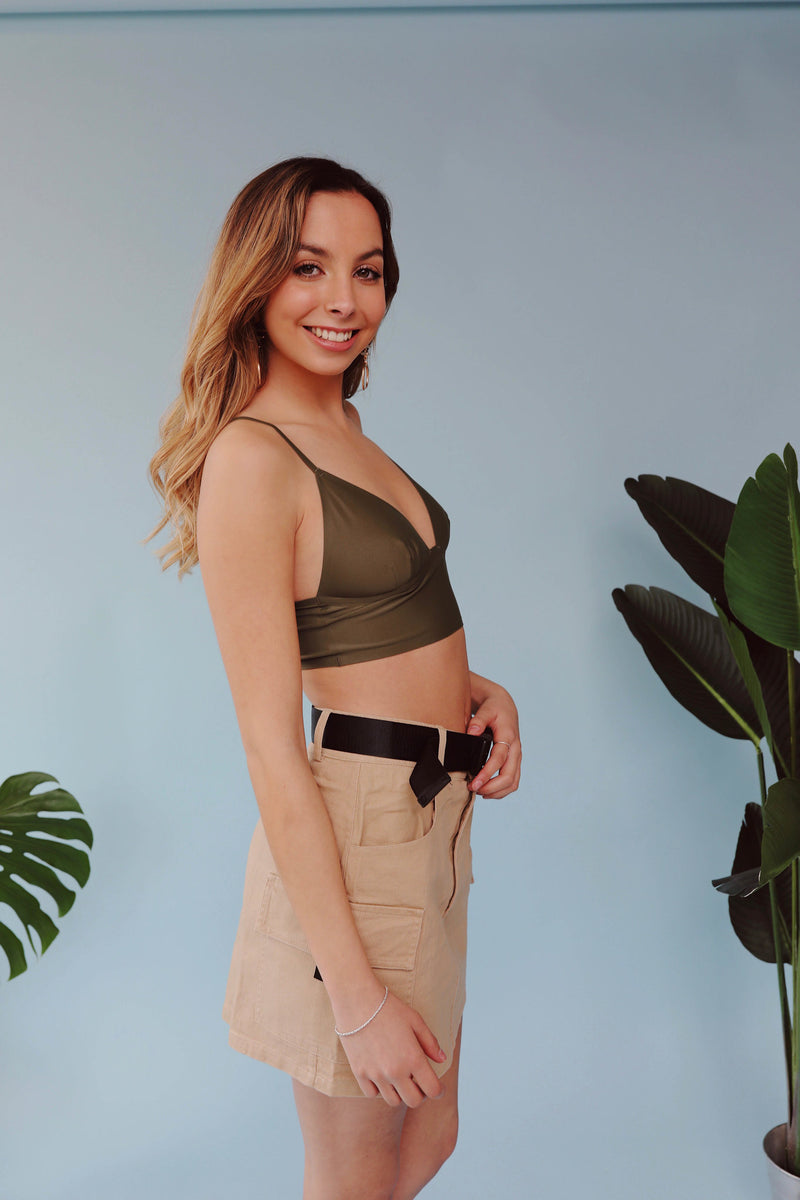 Crop Top Puyehue Verde