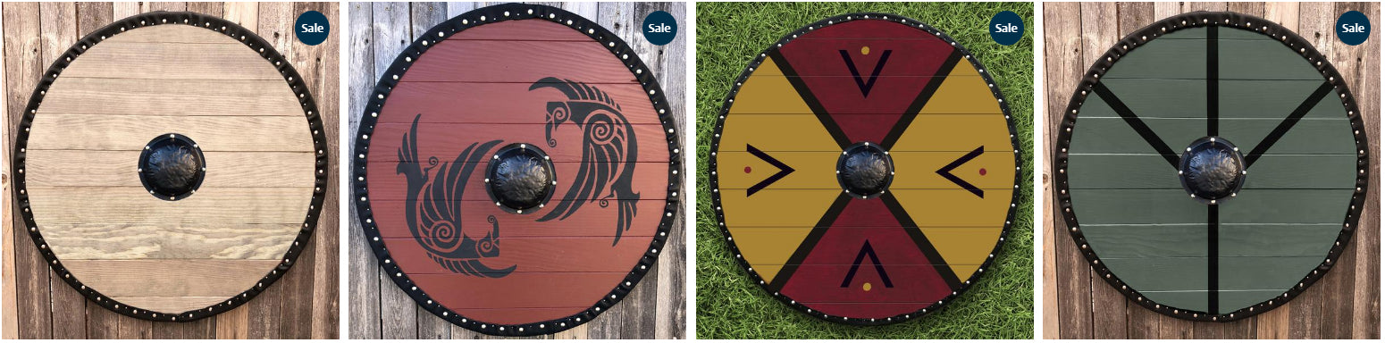 The Viking Shield - History / Facts / Construction and more