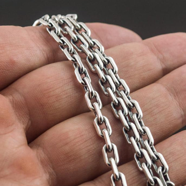 5mm Sterling Silver Rolo Chain