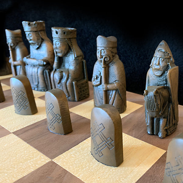 Isle of Lewis Chess Set - Resin