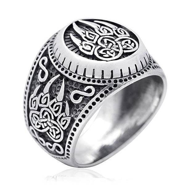 Berserker Ring - Sterling Silver
