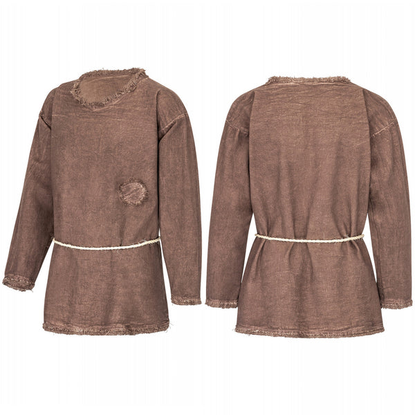 Boy's Brown Tunic - Cotton