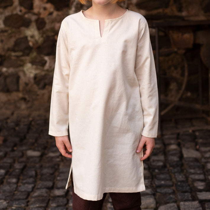 Boy's Viking Undertunic - Light Cotton