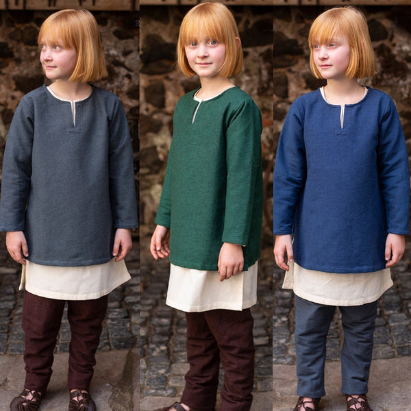 Boy's Viking Tunic - Heavy Cotton