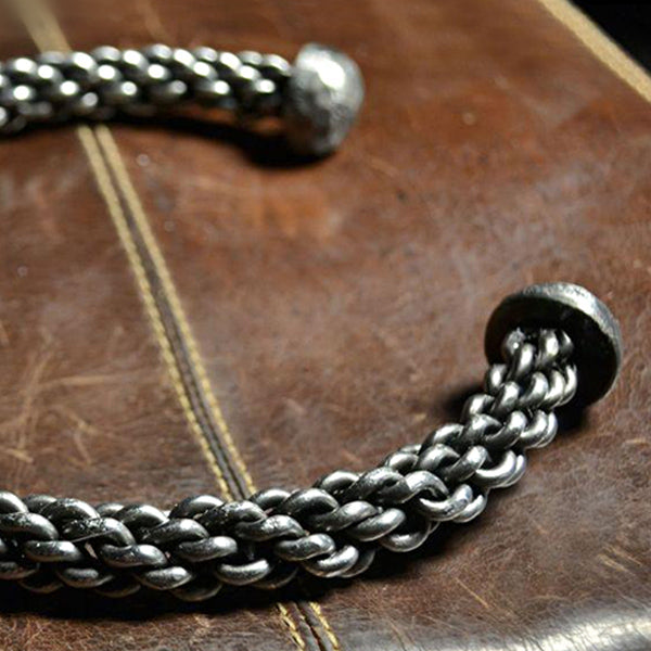Braided Steel Torc