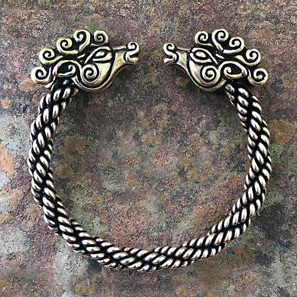 Braided Deer Bracelet - Bronze