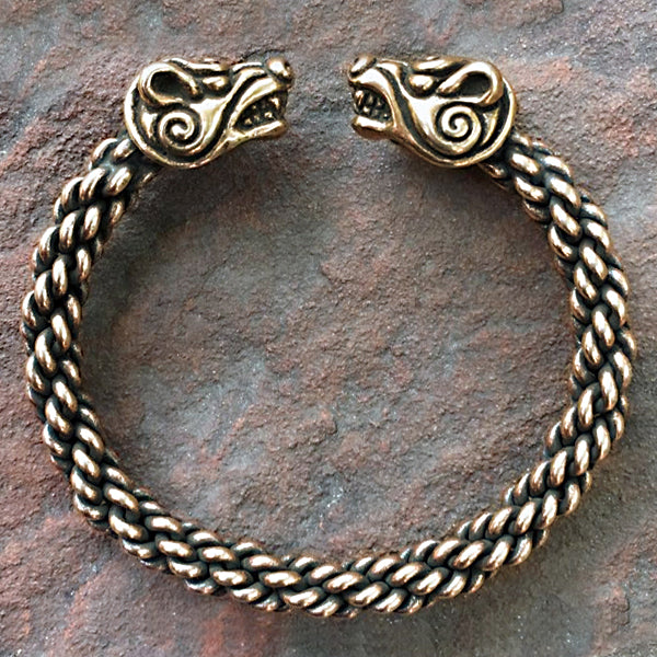 Celtic Bear Bracelet - Bronze
