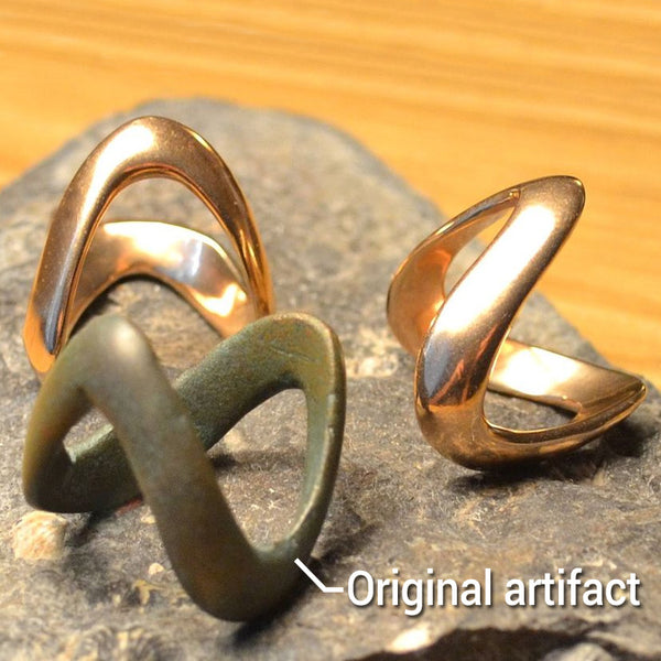 Celtic Boii Tribes Ring - Bronze