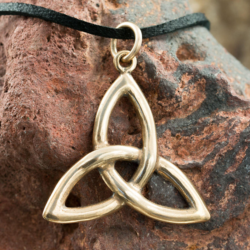 bronze celtic knot