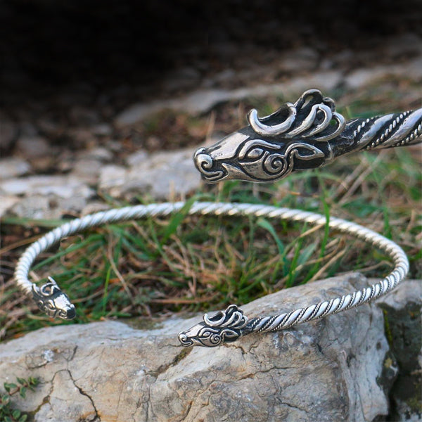 Silver Celtic Torc