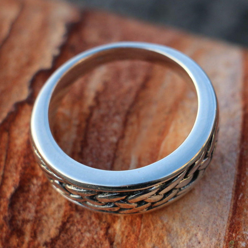 Celtic Weave Ring - Sterling Silver