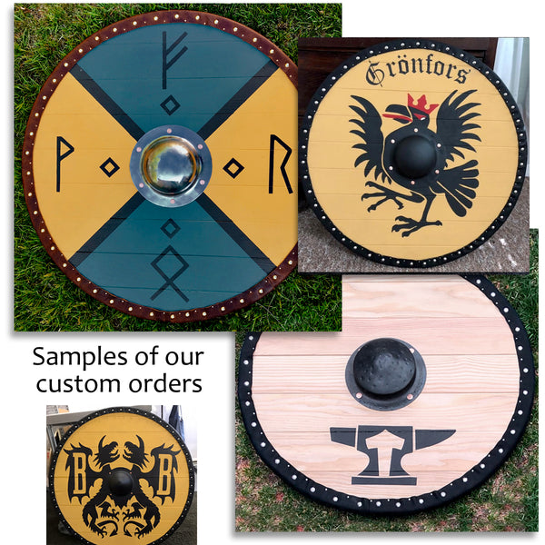 Custom Viking Shields