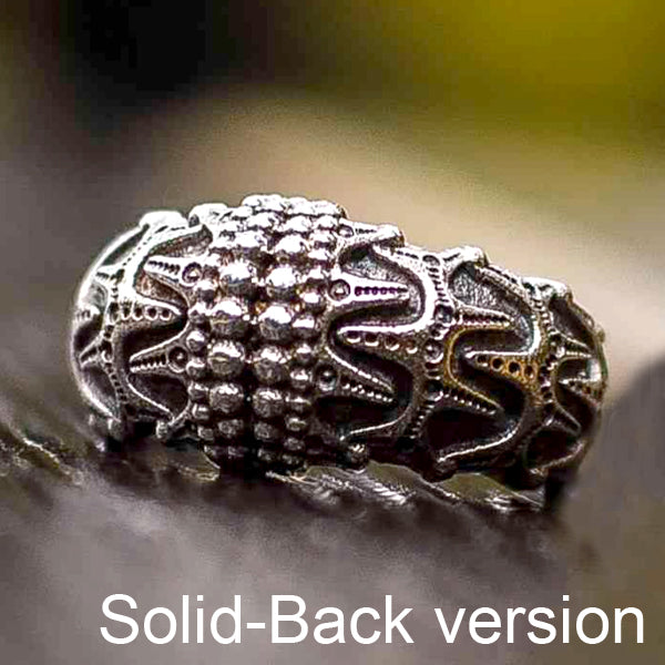 Danish Viking Ring - Sterling Silver