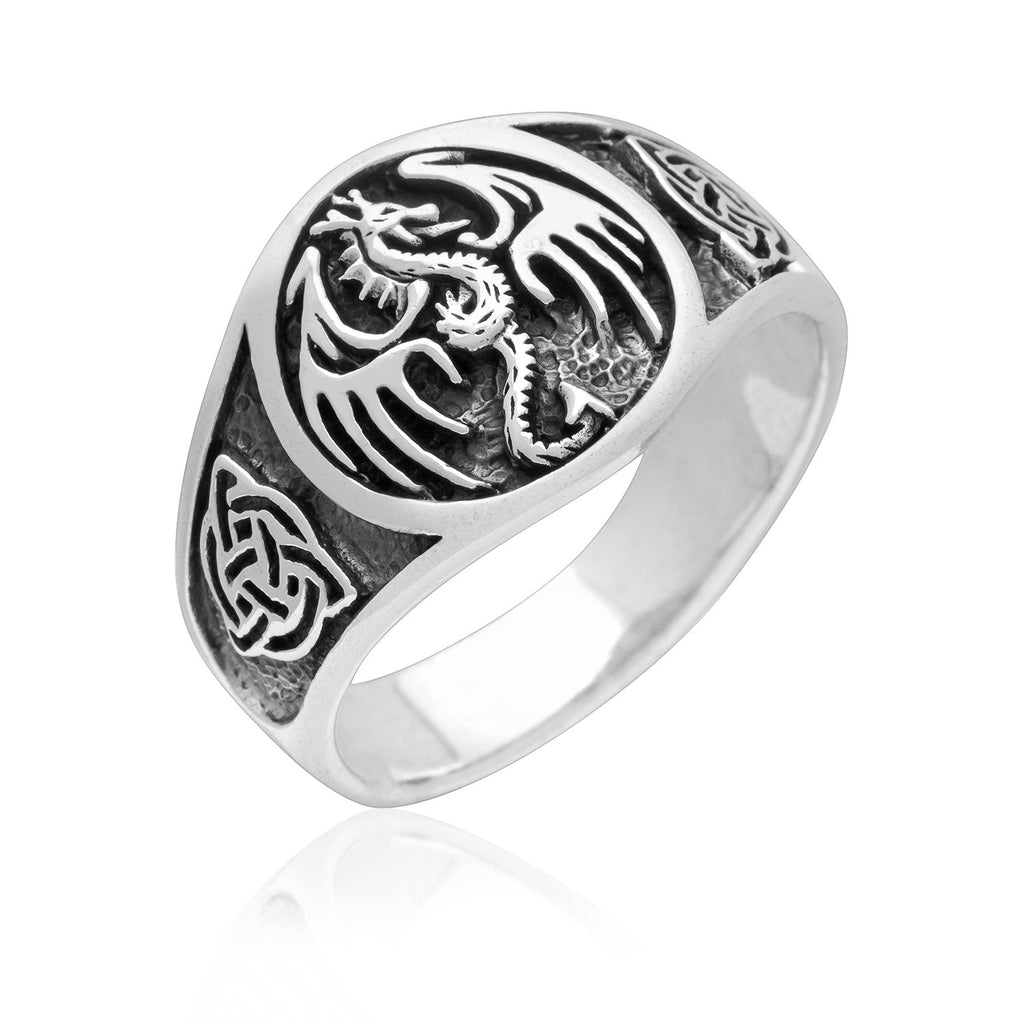 Dragon Ring - Sterling Silver