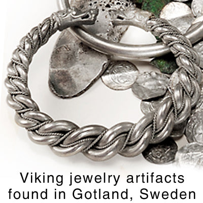 Extra Thick Gotland Bracelet - Sterling Silver