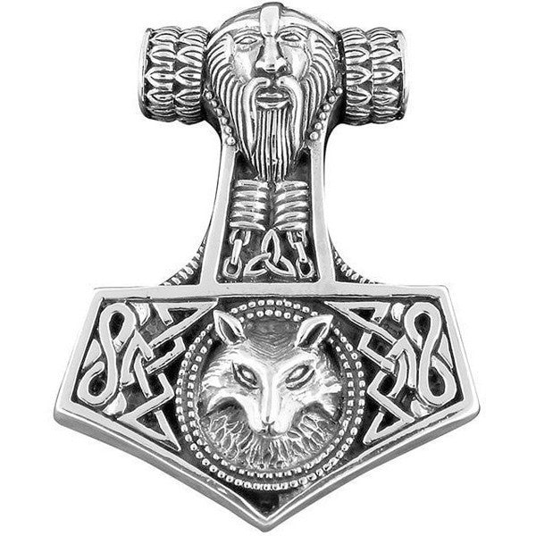 Hammer of Thor - 925 Sterling Silver