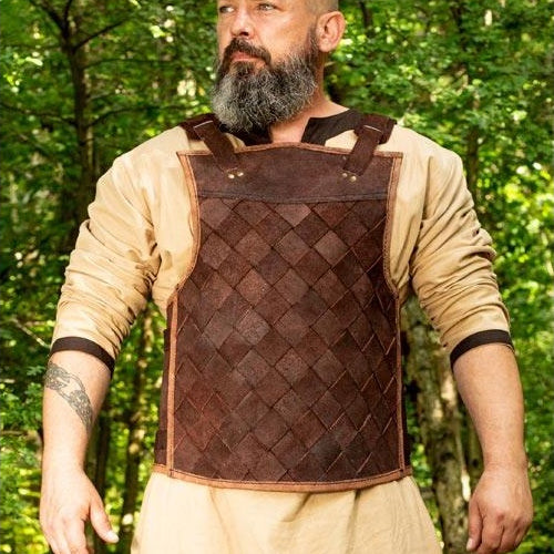 Hatch Pattern Leather Armor