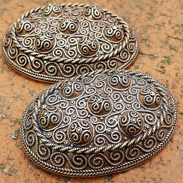 Hedeby Replica Turtle Brooches