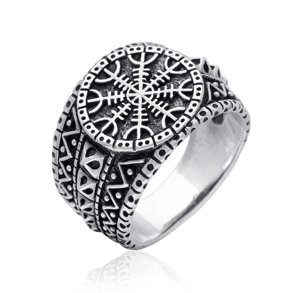 helm of awe viking ring