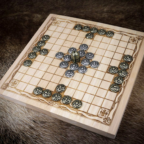 Hnefatafl / Viking Chess - Metal