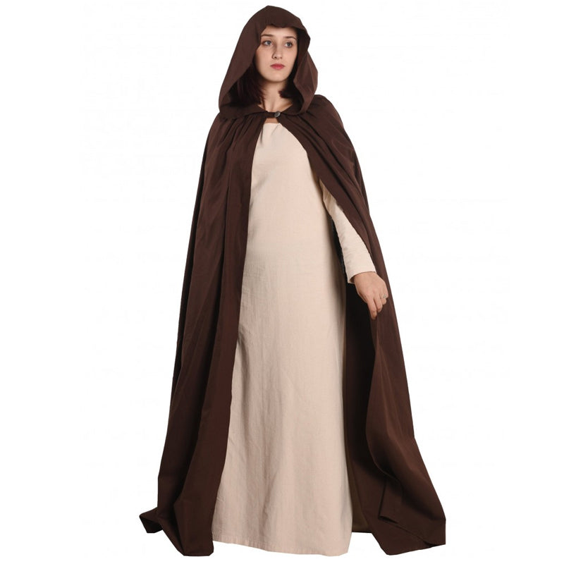 Hooded Cloak - Cotton
