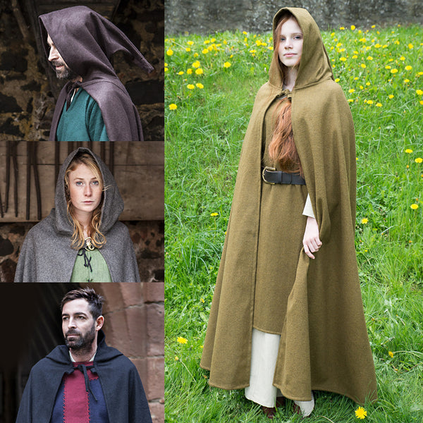 Hooded Cloak - Wool