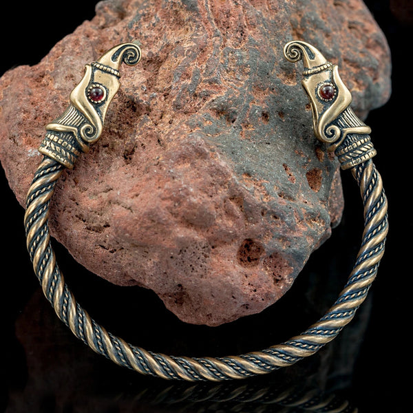 Huginn and Muninn Arm Ring - Bronze
