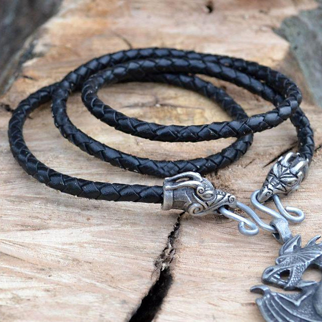 Jörmungandr Necklace - Pewter