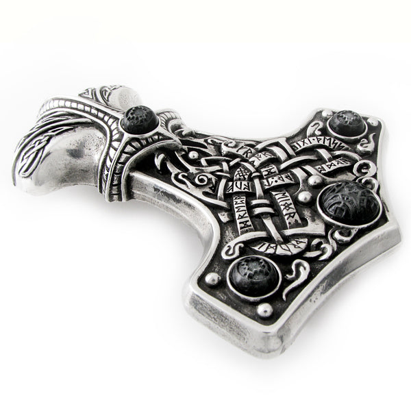 Large Thor's Hammer Buckle