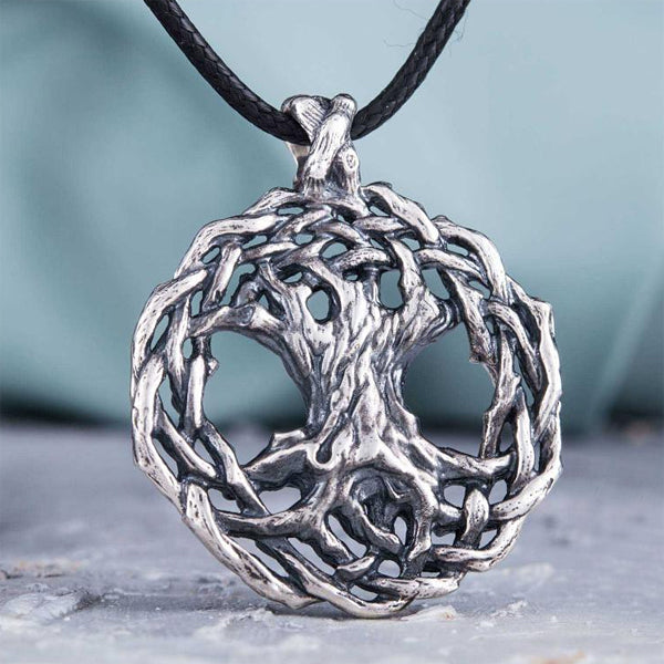 Heavier Tree of Life - Sterling Silver