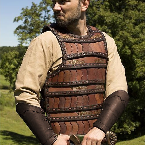 Layered Leather Armor