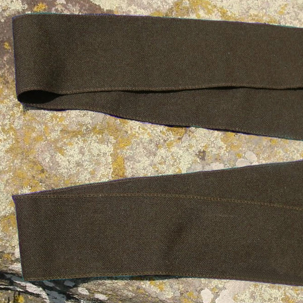 Wool Leg Wraps - Olive Green