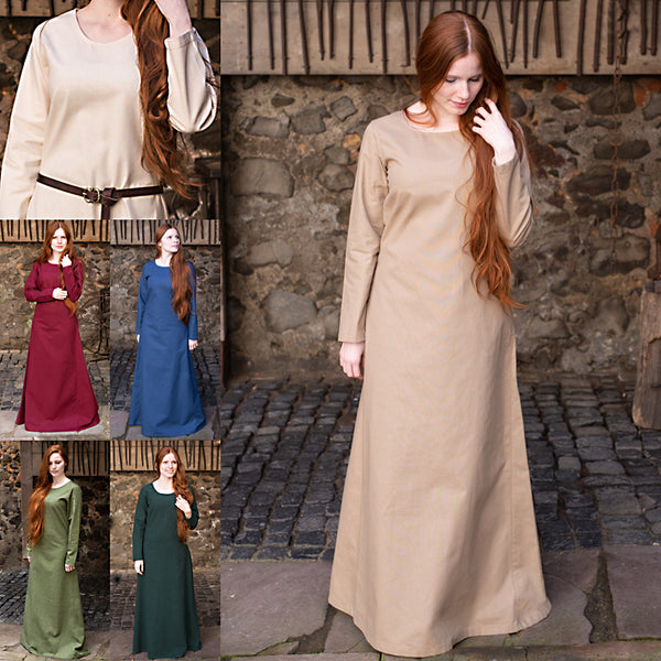 Long Sleeve Underdress - Light Cotton