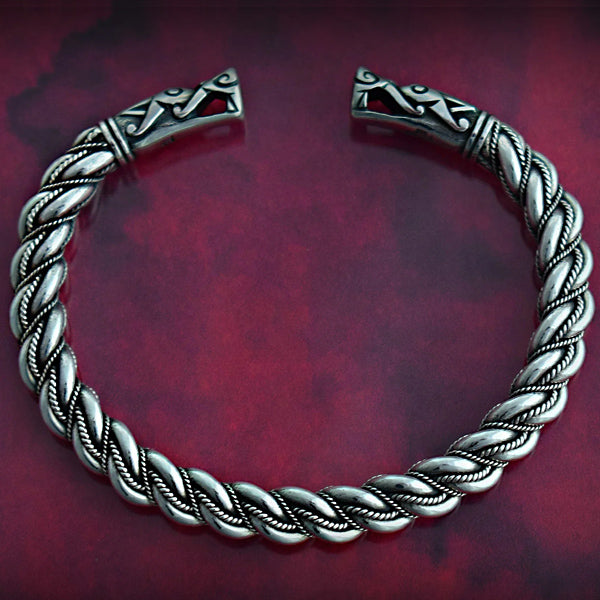 Medium Twist Gotland Bracelet - Sterling Silver