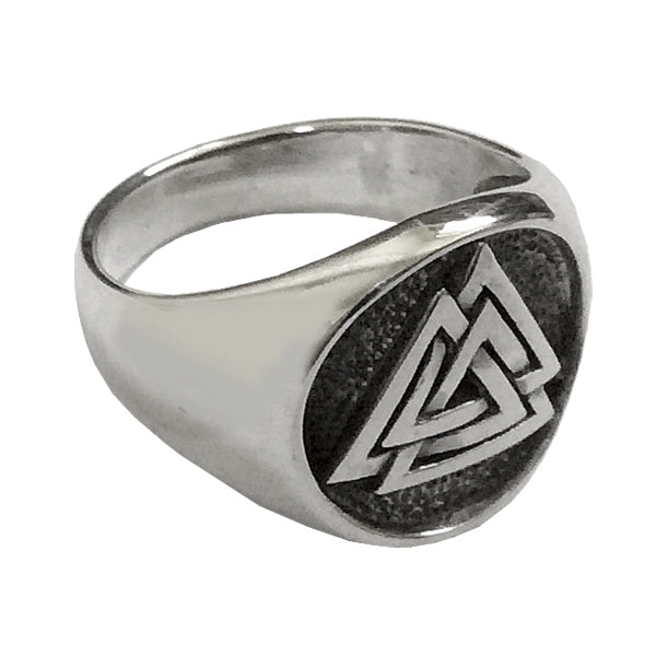 Norse Ring - Sterling Silver