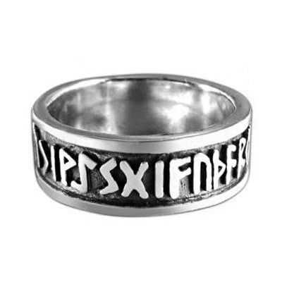 Norse Rune Ring - 925 Sterling Silver