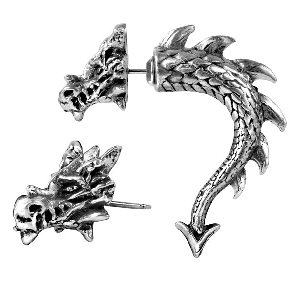 Norse Serpent Earring