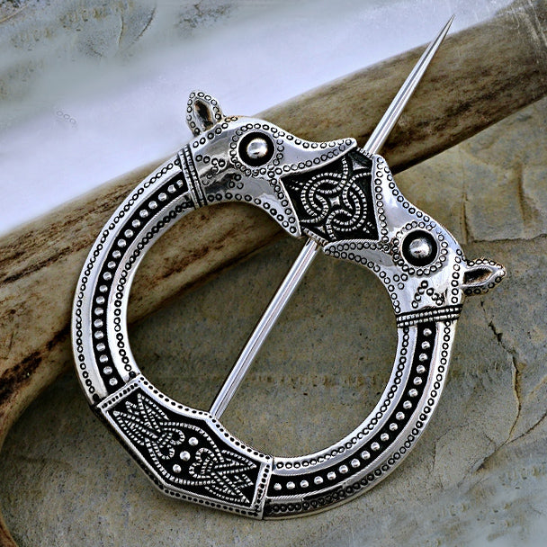 Norwegian Cloak Pin - Bronze or Silver