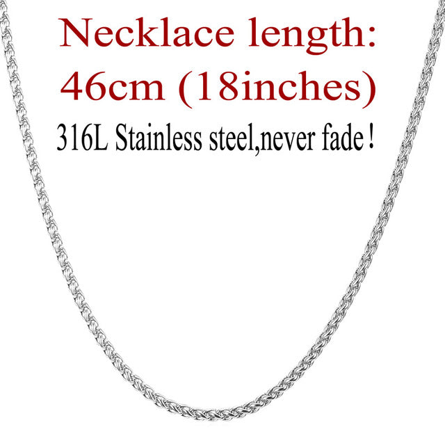 3mm Stainless Steel Link Chain