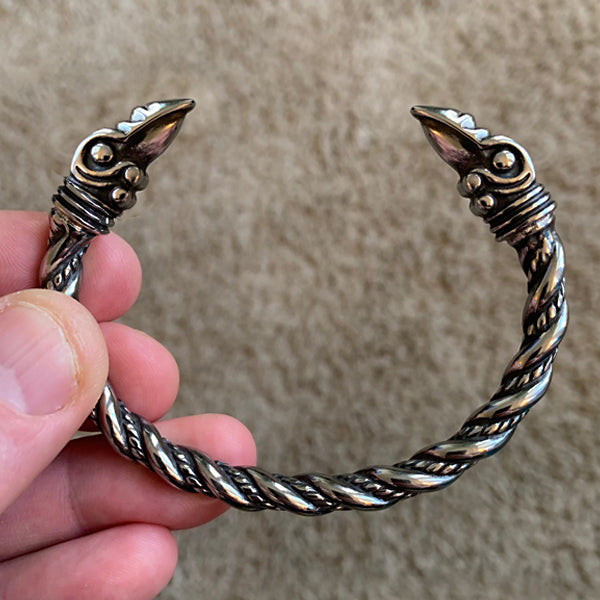 Huginn and Muninn Bracelet - Stainless Steel