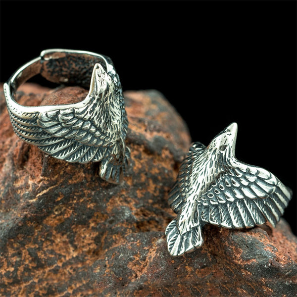 Raven Ring - Sterling Silver