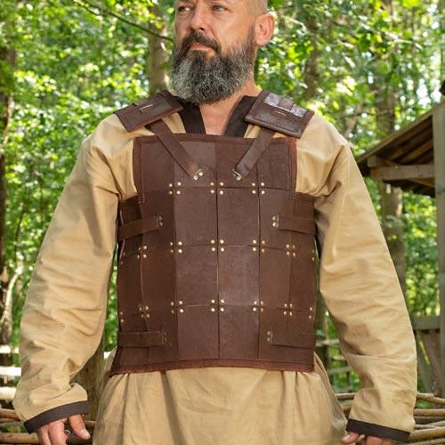 Rectangle Pattern Leather Armor