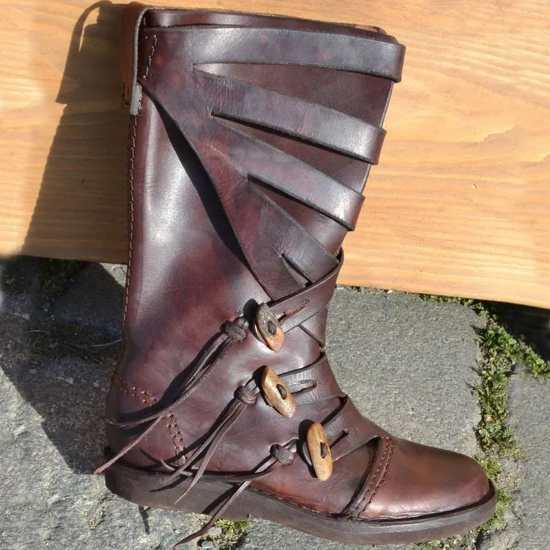 Ribe Viking Boots - Leather